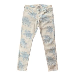 American Eagle AE jeans jegging floral 4 short